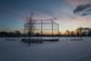 Thnking of Summer, Trenton, Mi (Gordon-Shukwit) Tags: michigan snow winter baseball trenton