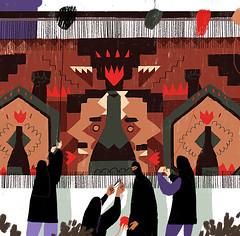 Resist (sergey, prktr) Tags: editorial carpet iran persia rug women east illustration protest work