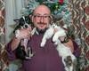 THE SUSS-FAMILY CHRISTMAS 2017 (The Suss-Man (Mike)) Tags: ballground cherokeecounty christmas2017 christmasportrait cumming forsythcounty georgia heather me sonyilca77m2 sussmanfamilyportrait sussmanimaging thesussman tim cat feline owen dog canine lucy