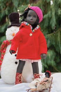Isabel's Kwanzaa Doll