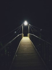 Haunted Bridge of Chaos (ainulislam) Tags: haunted bridge lights mystreries spooky nightlight bangladesh bd walk ghost sajek sajekvalley far distance canon eos 600d outdoor xiaomi mobile phone