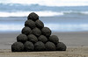 Black Sand Balls (andrewrosspoetry) Tags: pyramid