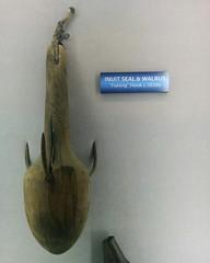 First Nations fishing tools (2) #toronto #ripleysaquarium #aquarium #firstnations #inuit #sealing #latergram (randyfmcdonald) Tags: firstnations ripleysaquarium latergram aquarium sealing inuit toronto