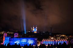 Fête des Lumières Lyon - in Explore (Samuel Raison) Tags: fêtedeslumières lyon 8décembre nikon nikond3 nikon1435mmafsg