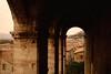 Tetti su Gubbio (moniq84) Tags: gubbio umbria italia italy roofs red houses arch architecture travel nikon travelphotography shadows dark