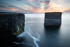 Downpatrick Head (Hibernia Landscapes (sjwallace9)) Tags: mayo ireland sunset