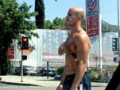 IMG_7133 (danimaniacs) Tags: shirtless hunk man guy bald