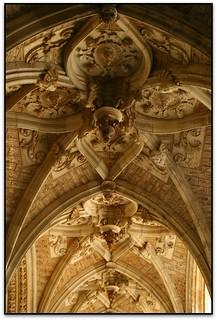 Volta d'una galeria del claustre, Catedral de Santa María, León (España)
