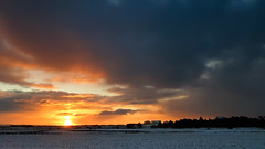 December light (Tommy Høyland) Tags: landscape light december view vista sky clouds orange nobody beautiful wide open horizen snow winter dark cold silhouette