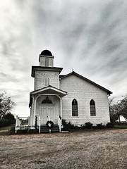 Chapel on the Whitney Plantation (mooshrimp) Tags: iphone7 iphone building museum slave slaves slavery plantation neworleans louisiana southern south historic history imposing cloudy sky dramatic drama white chapels chapel churches church