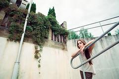 64_000 (newmandrew_online) Tags: filmisnotdead film filmphotografy ishootfilm 35mm canon 1v girl street portrait belarus beauty color summer