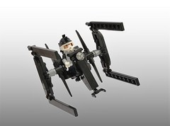 Canto Bight Police Speeder (1) (Inthert) Tags: lego star wars canto bight speeder bike police jet stick cantonica last jedi moc ship fly craft