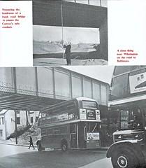 London transport RTL1307 and RT2775 Baltimore 1952. (Ledlon89) Tags: rt rtbus rtl rtlbus aecregent leylandtitan aec leyland lt lte londontransport londonbus londonbuses london bus buses vintagebuses 1952 1950s usa america canada tour booklet taleofthreebuses londonbooks alltypesoftransport