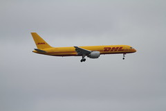 G-BMRD (Rob390029) Tags: dhl boeing 757 gbmrd plane jet civil civilian aircraft aviation flying flight airborne landing finals final approach london heathrow airport lhr uk egll transport transportation travel travelling traveling