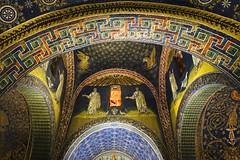 Mausoleum of Galla Placidia  DSC01321 (Chris Belsten) Tags: byzantine oratory iconography mausoleum westernromanempire earlychristianart byzantineart ravenna worldheritage romanempire mosaic mosaics gallaplacidia unesco church