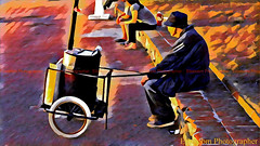 SURVIVING (elbetobm thanks +8.100.000 views) Tags: flickr elbetobm photographer surviving senior peanut vendor uruguay south america montevideo punta gorda color art sunset old sun rio de la plata shot samsung galaxy hot mani cart with wheels firewood chimney capture photo picture super composition colorful multicolor seated looking hat man job observing paperboard handmade metal barrel square virgilio opportunity street traditional peddler smoked painting imitates great canonpowershotsx130is beautiful setting traditionalpapercone cone impressionism painterly wonderful wonderfully splendid creative image exclusive artwork graphic artistic