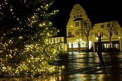 Eckernförde, Rathausmarkt Wünsche allen ein frohes und gesundes 2018 und immer gutes Licht. (Ostseeman) Tags: eckernförde schleswigholstein nachtaufnahme