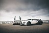 Bugatti x2. (ChrisChung722) Tags: bugatti veyron supersport pur blanc eb110ss white car week monterey pebble beach 17 mile drive