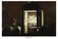 Love makes a house a home (kdymkowski) Tags: love house home light lightning photography art spark sparks night dark new year fire christmas xmas long exposure indoor photo lamp box