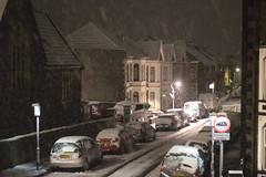 Glebe Rd Snow (Benn Gunn Baker) Tags: benn gunn baker canon 550d t2i bristol glebe road st george bs5 snow victorian terraces