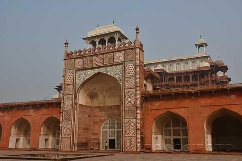 Sikandra - Nagy Akbar mauzoleuma06