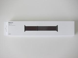 Apple Watch 42mm Black Sport Loop