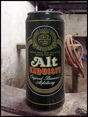 Mülheim (abudulla.saheem temporarily offline) Tags: altexquisit beer bier beercan bierdose basement keller mülheim ruhrpott ruhrarea ruhrgebiet nrw germany deutschland samsung galaxy s4 abudullasaheem