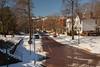 Harmar Village (thoeflich) Tags: snowylandscape harmarvillage harmar harmarfootbridge borailroadbridge snowfall snowscape marietta muskingumriver ohio ohioriver