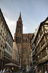 Cathedrale Notre Dame de Strasbourg (Sandra Tiemblo) Tags: cathedrale cathedral catedral strasbourg estrasburgo encuadre