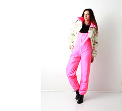 il_fullxfull.1422074893_cmyx (onesieworld) Tags: exy retro 80s 90s fashion port skisuit onepiece onesie snowsuit woman babe catsuit shiny nylon ski