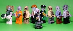 Welcome to Zombies Have Talent 2017 finale!! (Brick Police) Tags: zombietalentshow zombies zombie legozombie legos minifigures