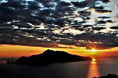 Island of dreams... (modestino68) Tags: tramonto sunset isola island capri riflessi reflects nuvole clouds mare sea hummingbird