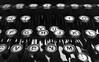 Hunt and Peck (mfhiatt) Tags: 365the2017edition 3652017 day354365 20dec17 img02821217jpg typewriter keys blackandwhite
