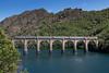 Cévenol pour Clermont (videostrains) Tags: bb67400 carmillon multiservice villefort barrage lac bayard intercités sncf train viaduc clermont cévenol cévennes nimes corail