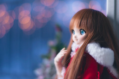 Holiday Dream (rensuchan) Tags: arle arlenadja d810 mdd volks abjd bjd doll dollfie dollfiedream nikon nadja dream アルル winter cold christmas holiday puyo