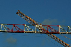 7 - Crossing (melina1965) Tags: 2017 décembre december îledefrance valdemarne nikon coolpix s3700 maisonsalfort ciel sky cloud clouds nuage nuages grue grues crane cranes