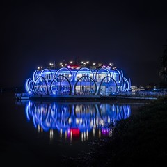 ... water restaurant ... (Klaus Mokosch) Tags: hanoi vietnam reflection water night nightshot urban city asia klausmokosch longexposure