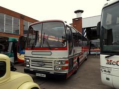 FYD 864T, AEC Reliance Plaxton Supreme (miledorcha) Tags: aec reliance 6u3zr plaxton supreme 11m mark4 fyd864t taylor coaches tintinhull mccall mccalls lockerbie gvvt bridgeton glasgow psv pcv coach preserved restored