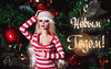 Happy New Year! (astramaore) Tags: happy new year bare essentials night natalia red green dollphotography astramaore fashionroyalty fashiondoll dress