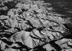 Rocky Mountan High BW (Alcona1) Tags: mountains blackandwhite rockies canada nature britishcolumbia rockymountains monochrome geology summits