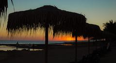 Sunset Lovers (Janne Räkköläinen) Tags: cyprus mediterrian evening sunset sunsetlovers beach suncover rayofsun rayoflight people wathcing enjoying holiday fun auringonlasku landscape canon6d canonphotography ef24105l colorful colours