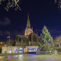 _IMG4976  Rotherham Minster and Christmas Tree (Pete.L .Hawkins Photography) Tags: hd pentaxd fa 1530mm f28 ed sdm wr petelhawkinsblueyondercouk petehawkinsphotographycom rotherham by night