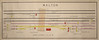 Walton GN 1965 (P Way Owen) Tags: walton signalbox diagram