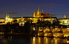 Prague Castle 2 (Ellsasha) Tags: praguecastle prague czechrepublic czechoslovakia czech ancient old illuminated nightphotography longexposure city