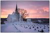 Morgenstemning i januar #3 (Krogen) Tags: norge norway norwegen akershus romerike nannestad landscape landskap krogen vinter winter fujifilmx100