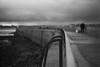 Le marcheur sur la jetée (l'imagerie poétique) Tags: limageriepoétique poeticimagery film argentique ilfordfilm rodinal selfdeveloped delta100 minoltax700 50mmlens stmalo bretagne france