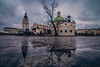 After the rain (Vagelis Pikoulas) Tags: rain reflection reflections krakow poland travel tokina 1628mm landscape city cityscape perspective canon 6d november 2017 water rainy old town square