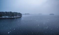 Mysterious Archipelago (@Tuomo) Tags: päijänne finland jyväskylä keskisuomi nordic winter december lake snow snowing archipelago landscape seascape nikon d810 1635mm