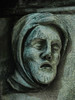 Tiredness (Steve Taylor (Photography)) Tags: tired aching pain hood beard art sculpture bust green sad man uk gb england greatbritain unitedkingdom london texture