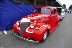 1939 Chevrolet (bballchico) Tags: 1939 chevrolet coupe flames jessjones goodguys carshow